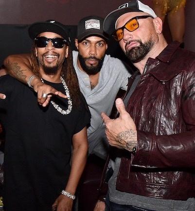Omari Hardwick and Lil Jon