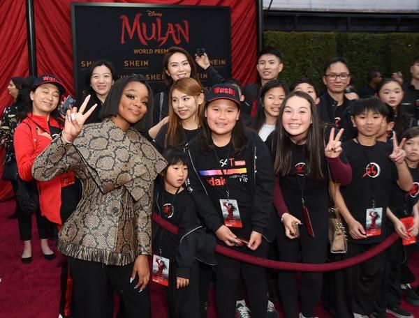 Marsai LOVES Mulan