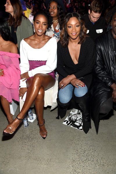 Kelly Rowland and Tiffany Haddish
