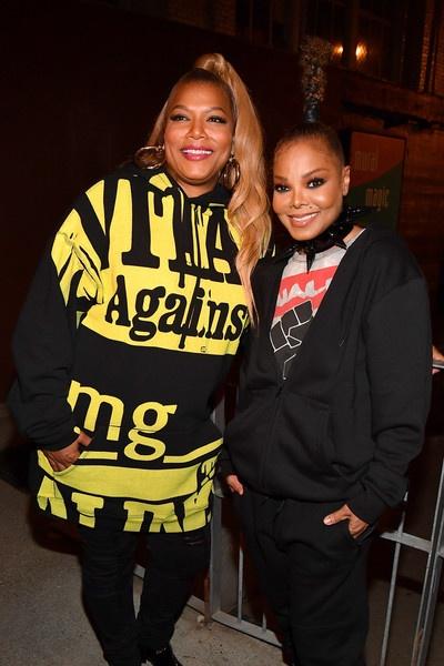 Queen Latifah & Janet Jackson