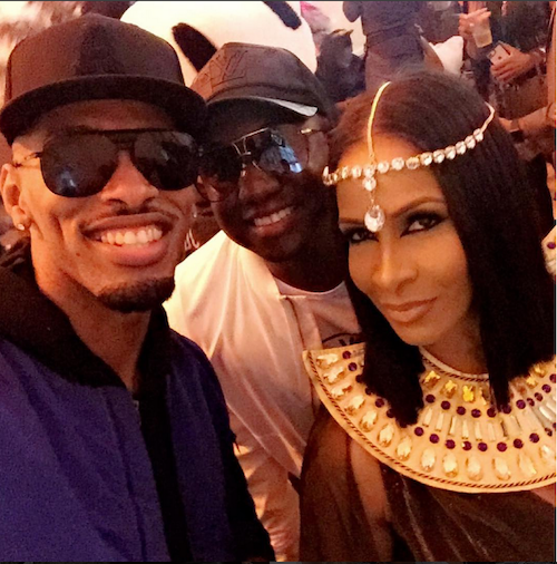 Sheree Whitfield As Cleopatra & Guest