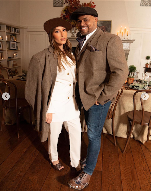 Adrienne Bailon Houghton and Israel Houghton