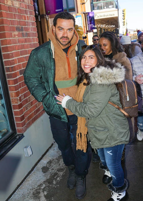 Taylor Paige and Jesse Williams