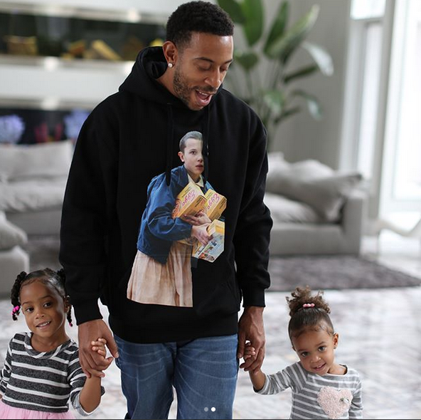 Ludacris & His Daughters