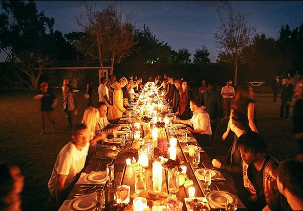 Diddy's Dinner Table