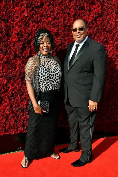 Loretta Devine and Glenn Marshall