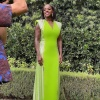 Viola Davis In Custom Louis Vuitton