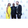 Regina King, Barry Jenkins and Michael Lerman