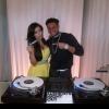 Kim Kardashian and DJ Pauly D