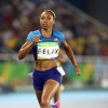 Allyson Felix, Women's 400 meter Semifinal