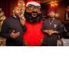 Chillin with Black Santa!