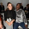Megan and Tracy Morgan at Bibhu Mohapatra Fashion Show