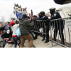 Trump supporters clash with police officers