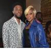 Mary J. Blige and Chadwick Boseman