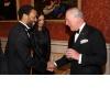 Greeting Royalty