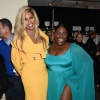 Laverne Cox and Danielle Brooks at Christian Siriano