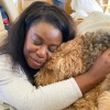 Uzo Aduba's Birthday Boy Pup Fenway