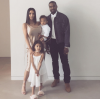 Kanye West, Kim, North & Saint West