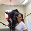 Soledad O'Brien & Horse