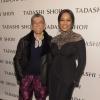 Designer Tadashi Shoji and Garcelle Beauvais