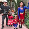 Tamera Mowry & Family