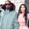 Kanye West and Kim K