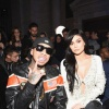 Tyga and Kylie Jenner at the Philipp Plein Fall/Winter 2017/2018 Women's And Men's Fashion Show