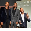 Michael Strahan and Tyler Perry