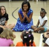 FLOTUS Loves The Kids!