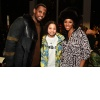 Fabolous and stylist June Ambrose at the Pyer Moss show