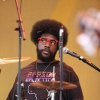 QUESTLOVE GIVING SOMEONE THE SIDE EYE...