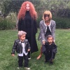 North West, Kim Kardashian, Joyce Bonnelli and Fam
