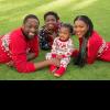 Gabrielle Union + Dwyane Wade + Zion + Kaavia James