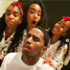 Christian Combs + Jessie & D'Lila Combs