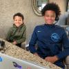 Robyn & Juan Dixon's Sons Corey + Carter