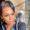Monique Samuels African Grey Parrot T'Challa Samuels