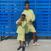 Kelly Rowland with Baby Bump & Son Titan