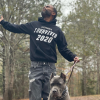 Lil Duval and Dog