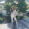 Ayesha Curry & Dog Reza Joon