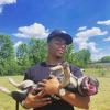NFLer JUSTIN FIELDS & DOG UNO