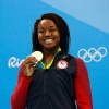 Simone Manuel, Swimming, 2 Gold, 2 Silver