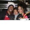 Nick Cannon + Brittany Bell + Golden Cannon