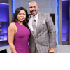Steve Harvey and Taraji Henson
