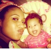 Tiffany Evans and Adalia!