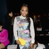 Yandy Smith at Vivienne Tam FW2017 Runway Show show