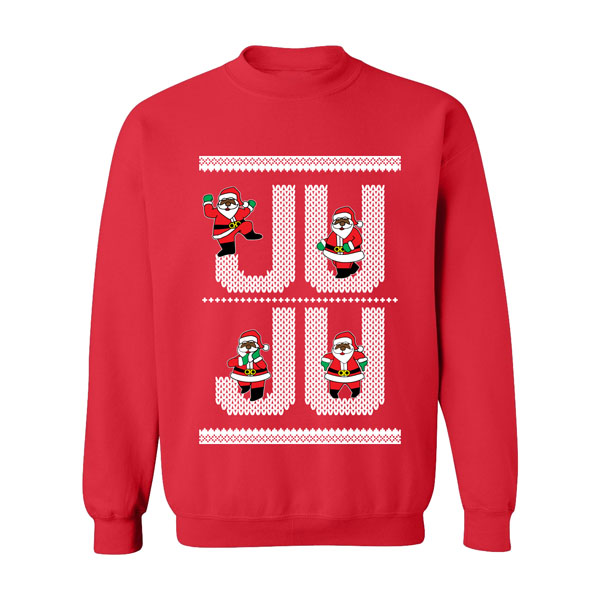 2 chainzs new ugly christmas sweater designs will have you ready to bust out all the latest dance crazes - Black Ugly Christmas Sweater