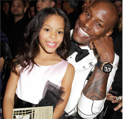 Tyrese Breaks Down About Daughter Shayla At His Concert, Then Weirdly Dedicated 'Let's Get It On' To Her