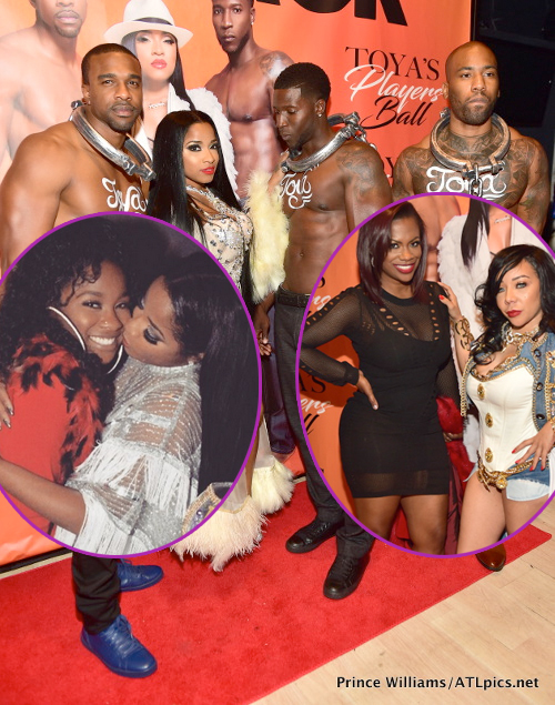 Big Pimpin Toya Wright Pulls Out The Neck Chains To Celebrate 33rd Birthday Players Ball Style It Was Lit