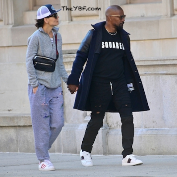 RUMOR CONTROL: Jamie Foxx Katie Holmes Are NOT Broken Up, Spotted Holding Hands In NYC