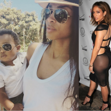 WEEKEND FUN: Ciara Russell Wilson Take Baby Future To The Zoo + Jennifer Lopez Celebrates Her 46th Brithday In A Booty-Baring Dress, Alongside French Montana And Fat Joe